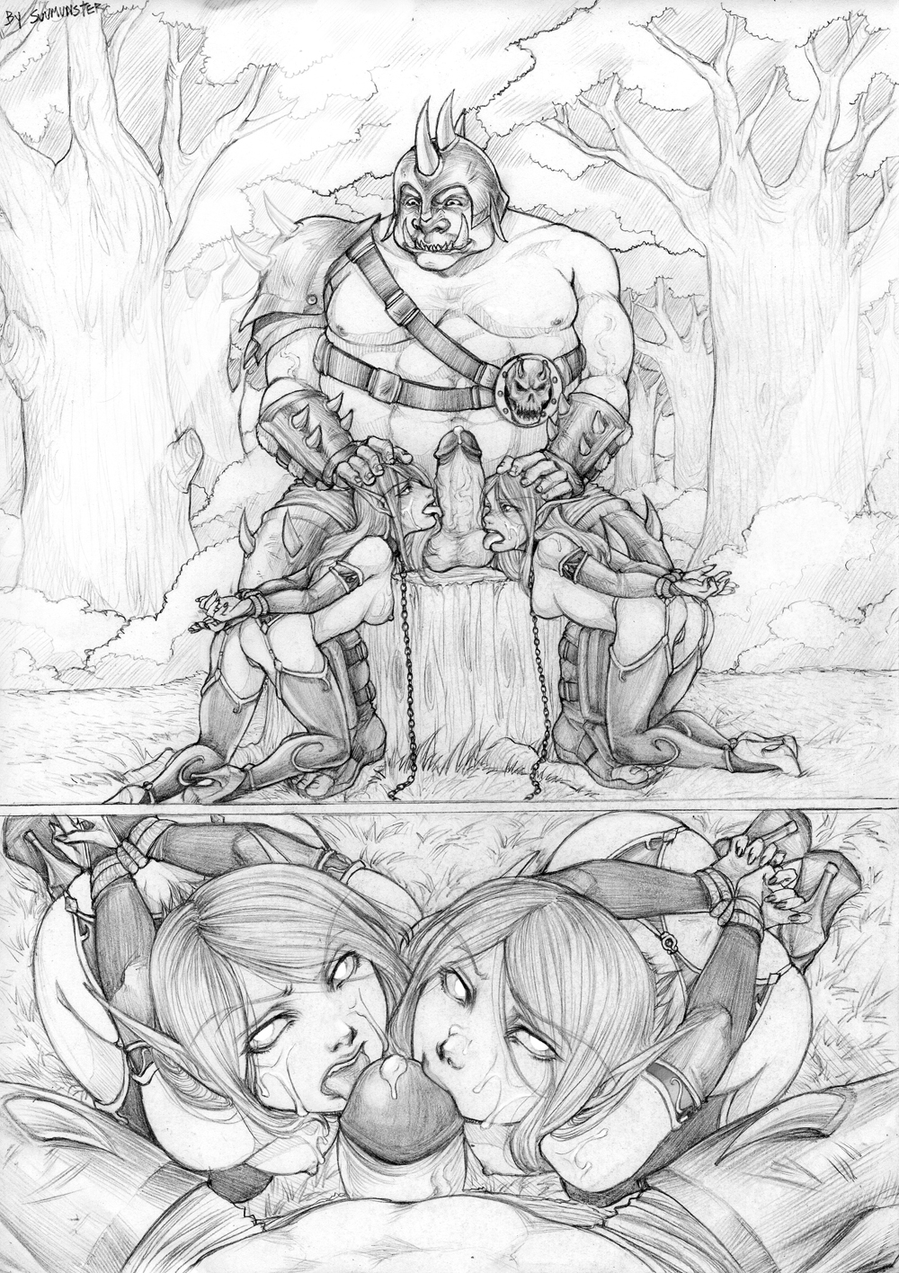 World of warcraft nude manga sex scenes