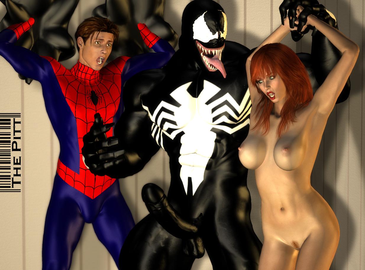 Человек паук трахается мери 24 фотография