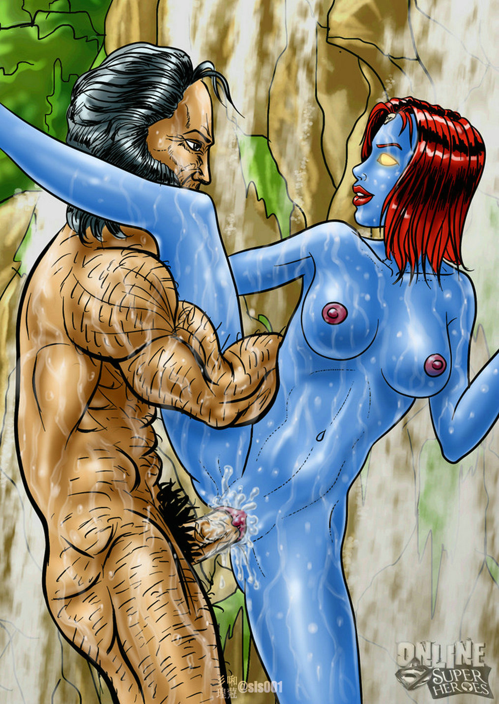 X-men porn comics
