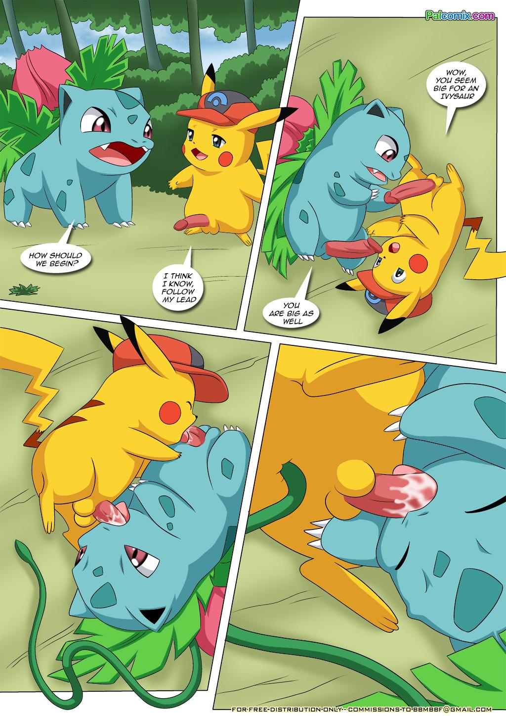 Pokemon hentai pikachu