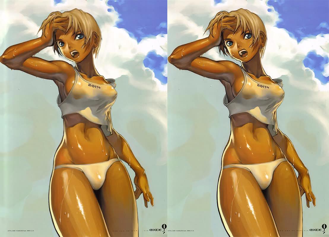 Crosseye 3d hentai naked image