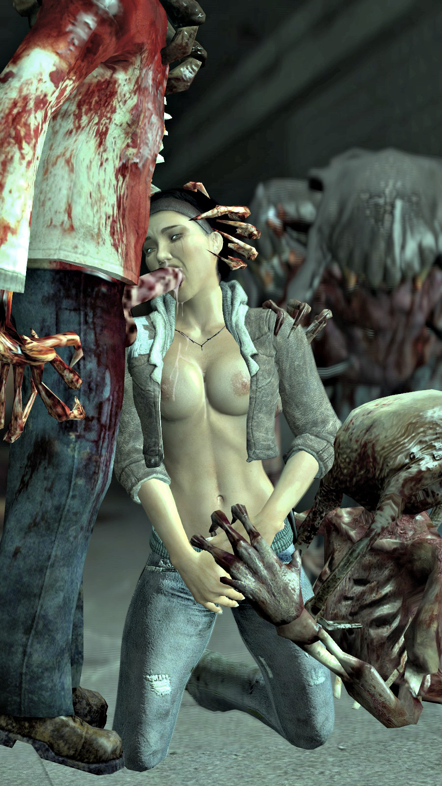 Porn half-life zombie sexy picture