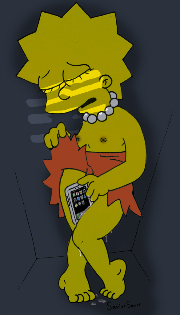 Lisa simpsons masturbate — pic 12