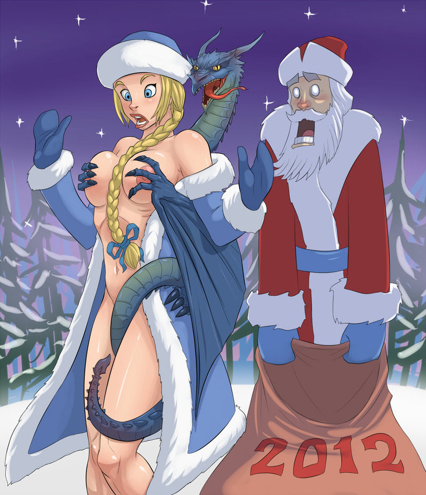 Hentai santa having fun fucked scene