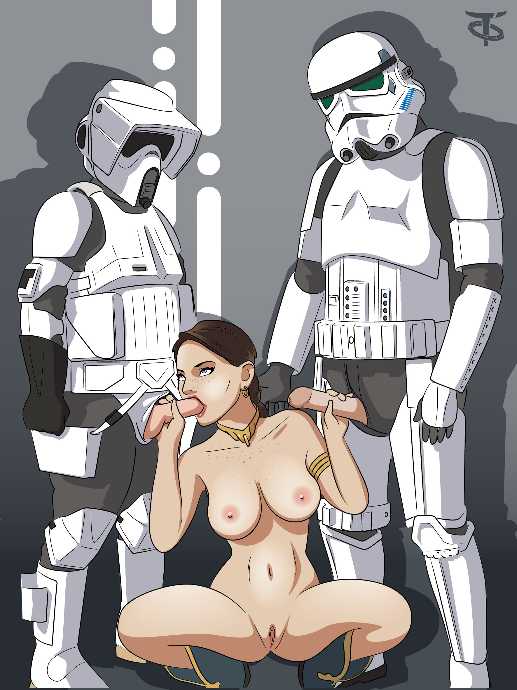 Naked star wars girl cartoon fucking movie