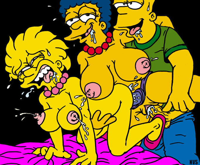 симпсоны порно фото меги