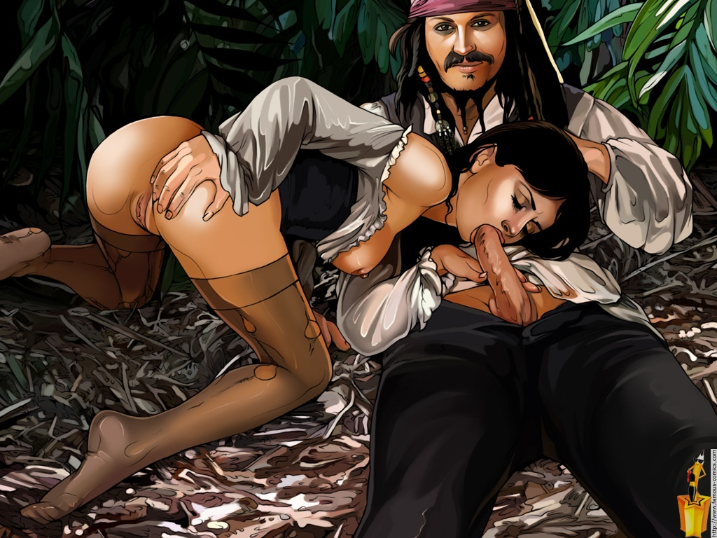 pirates of version caribbeans Porn