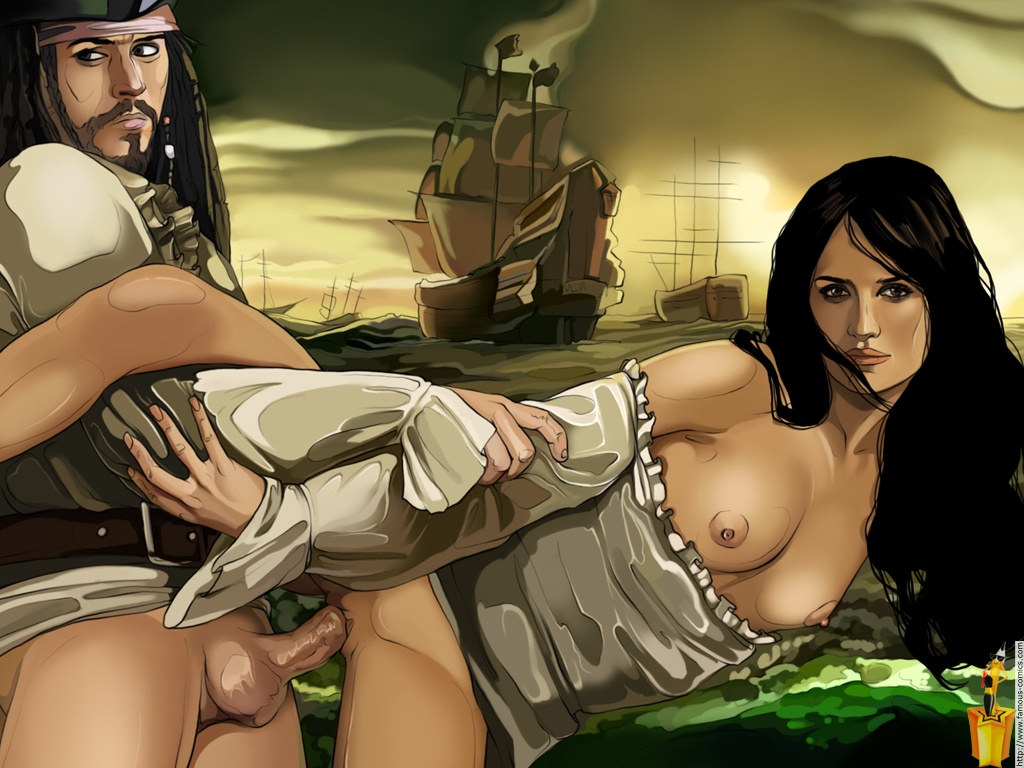 Pirates of the caribbean porn pictures 1
