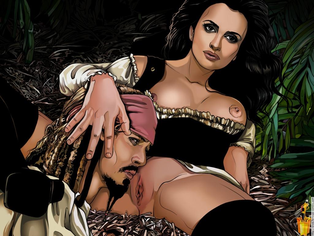 секс фото анжелики из пиратов