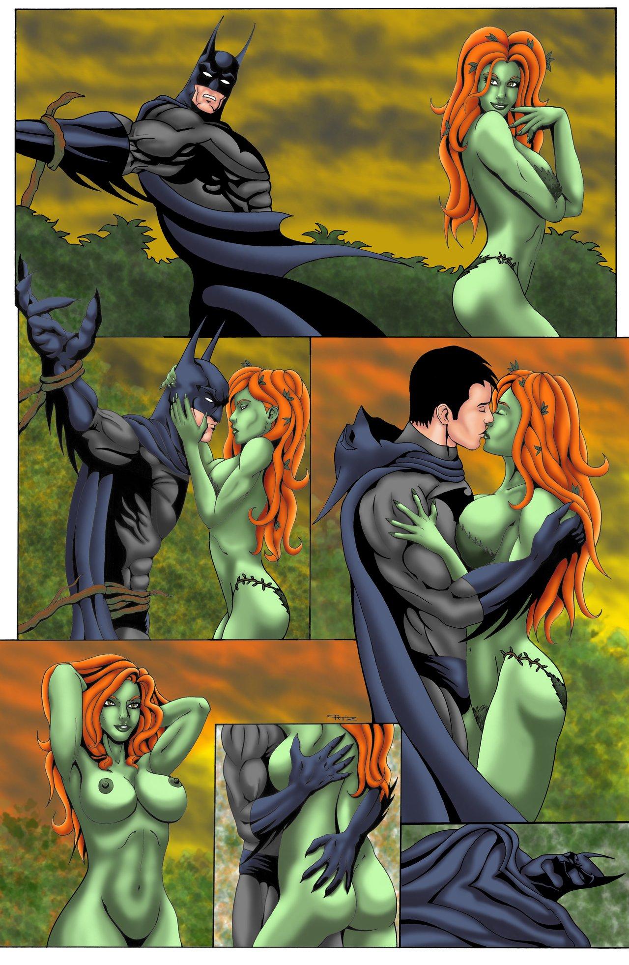 Poison Ivy Kills Batman