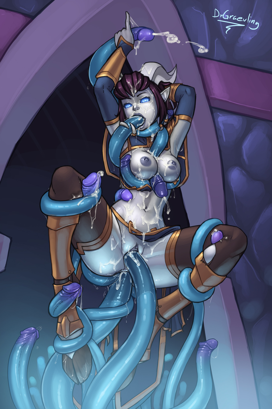 Draenei hentai galleries erotic girlfriends