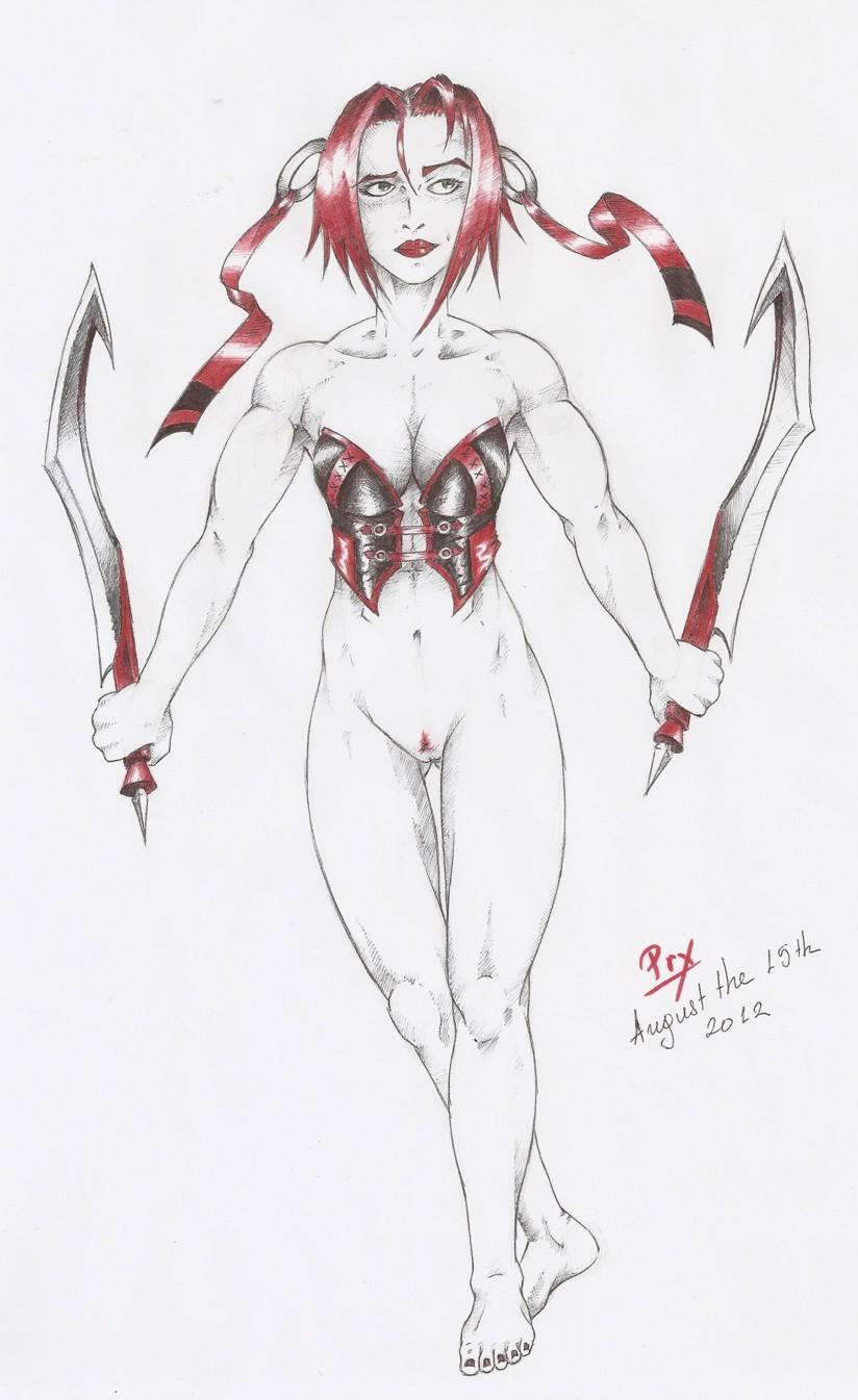 Bloodrayne's menois