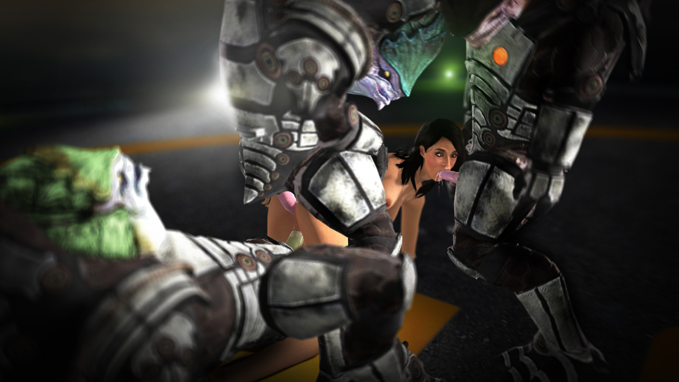 Mass effect 3 ashley williams porne getting  fucking scene