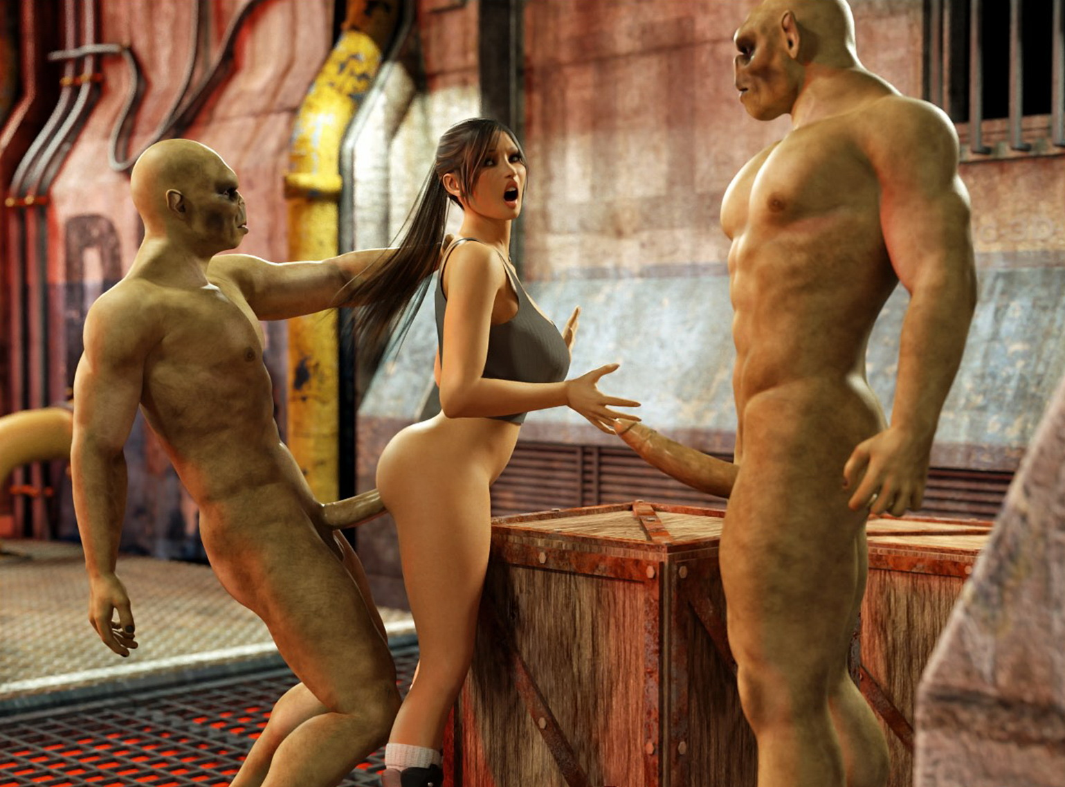 Порно игры большие члены