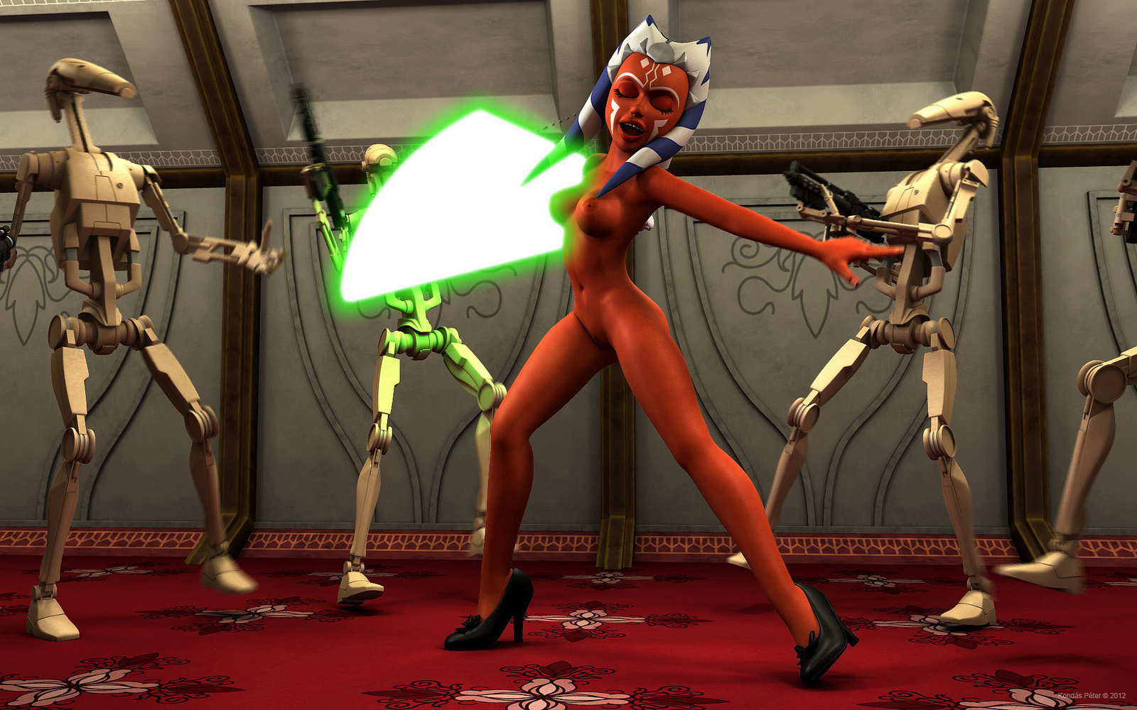 Star wars the clone wars naked softcore photos