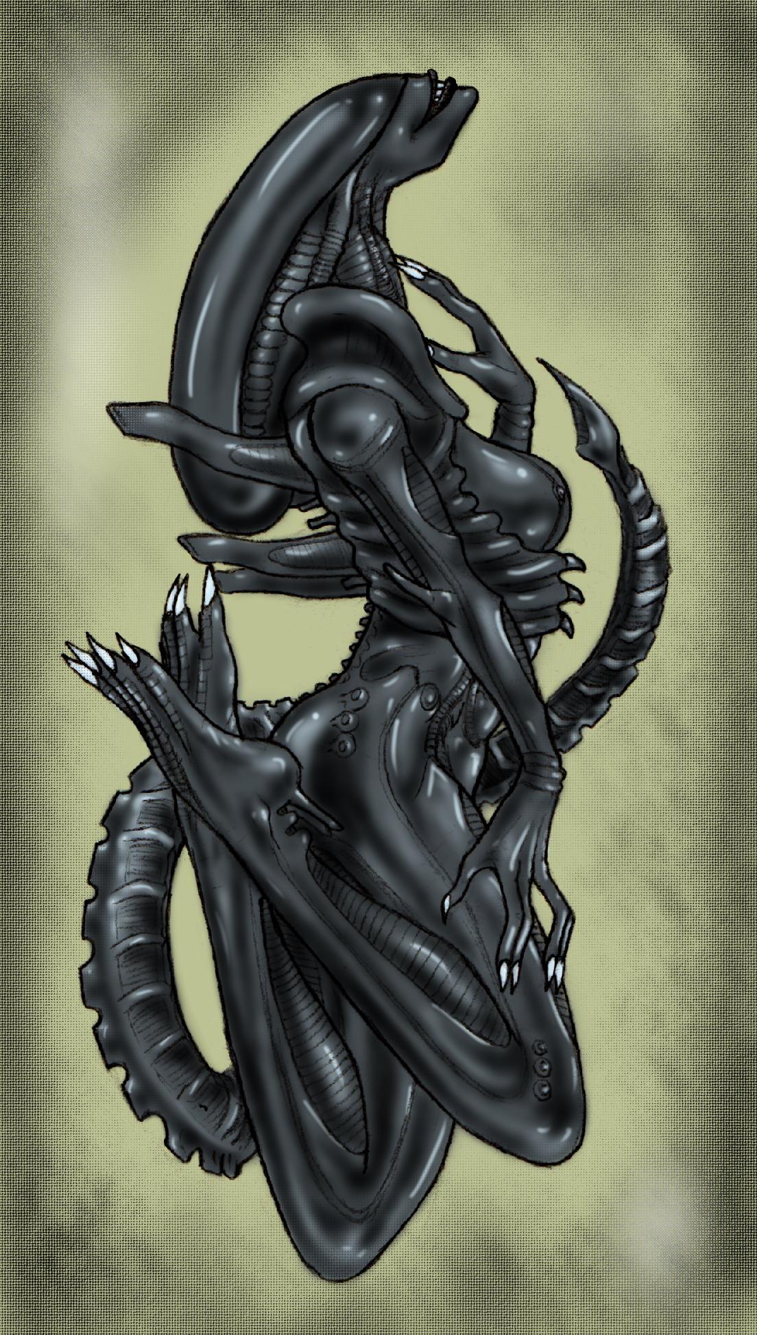 Hentays von monster versus alien cartoon photos