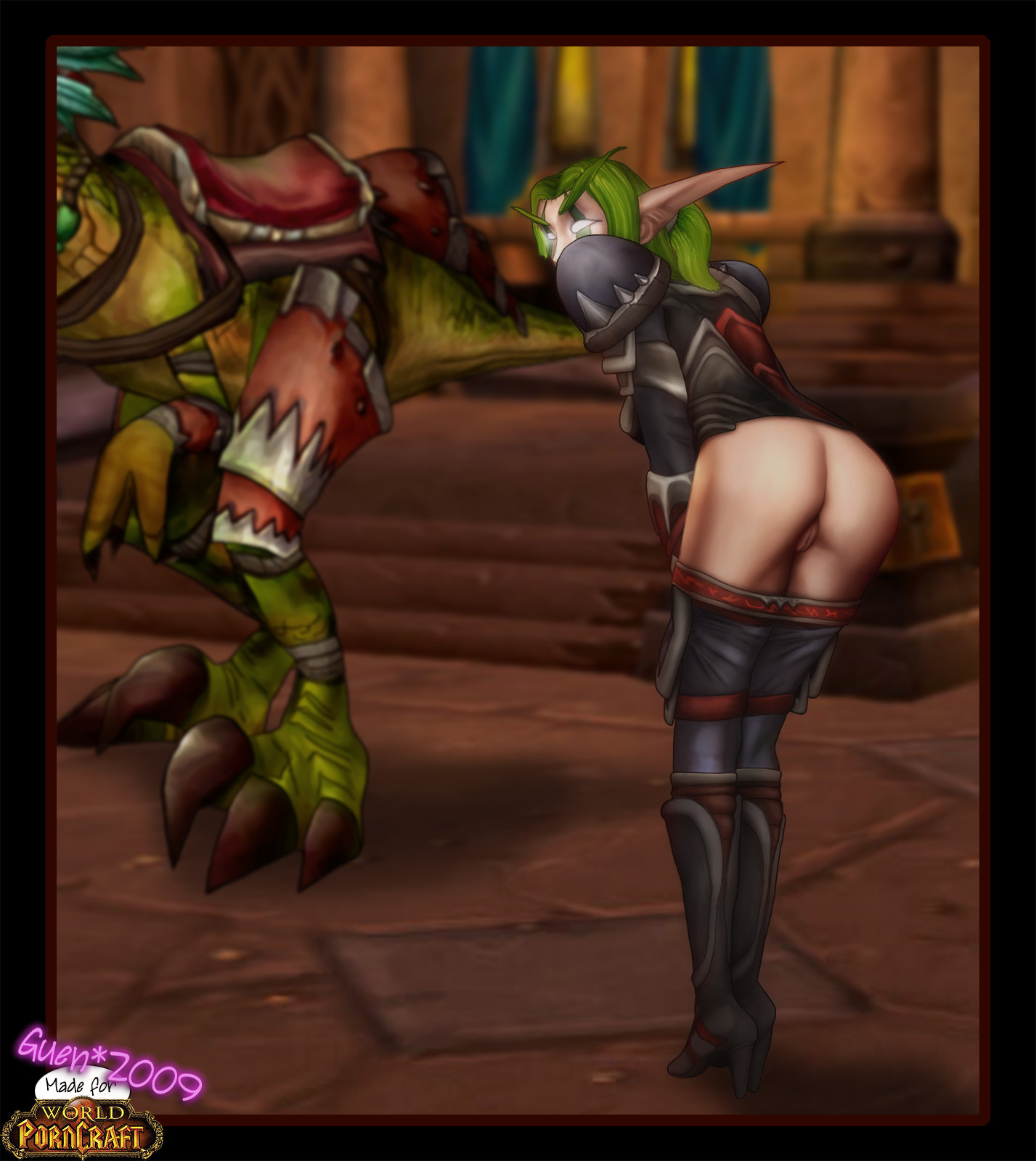 Hot naked world of warcraft orcs xxx toons