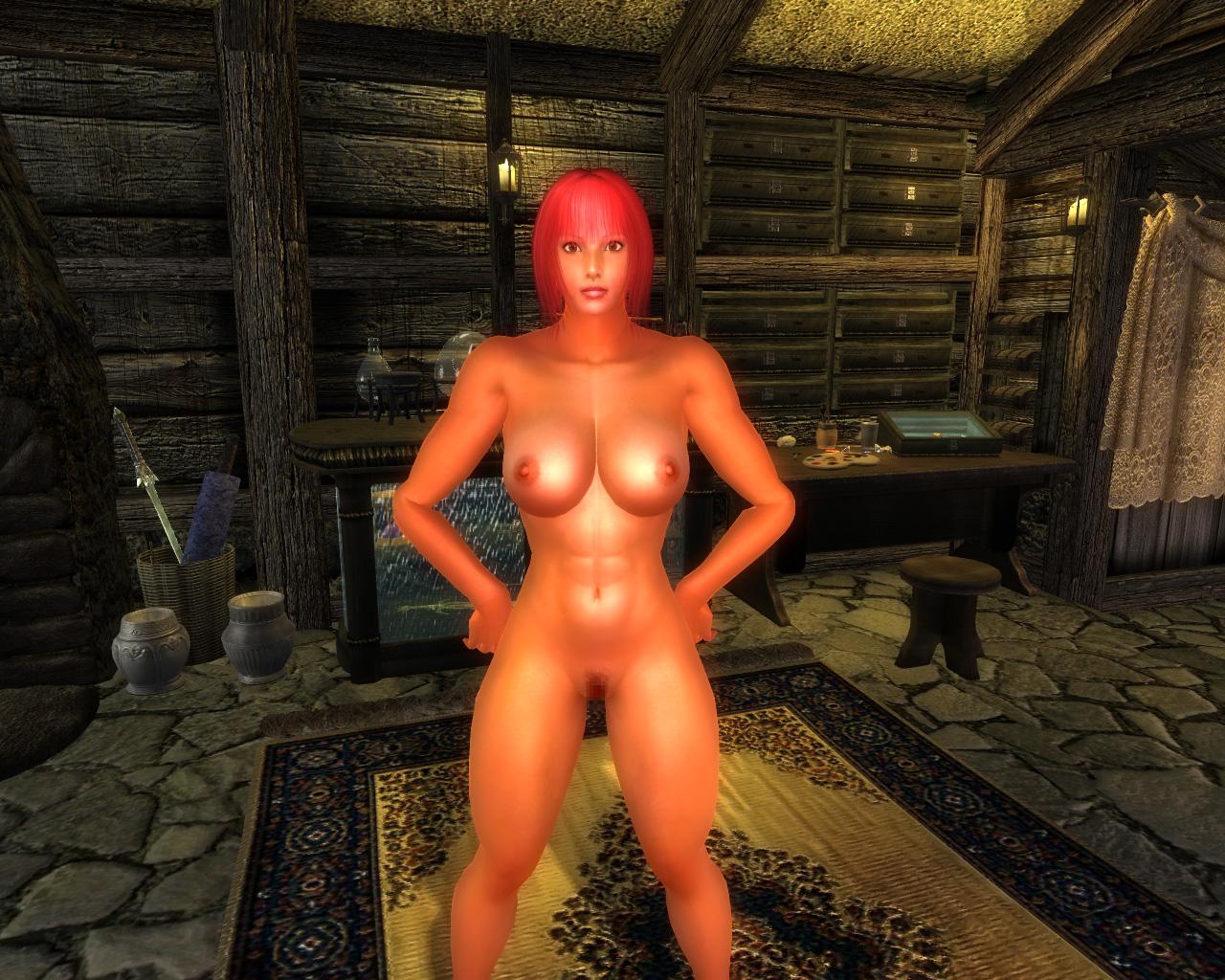 Oblivion game nude porn tube