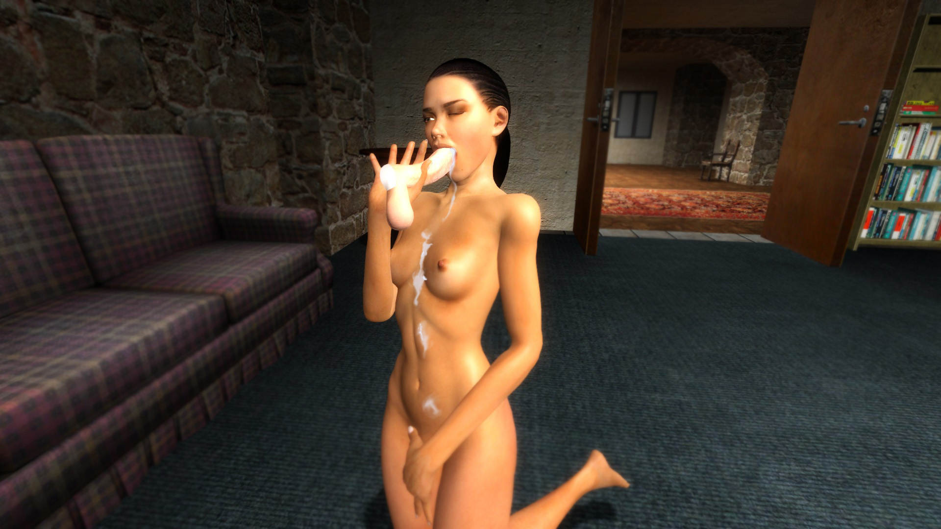 Half life 2 female npc naked sex clip