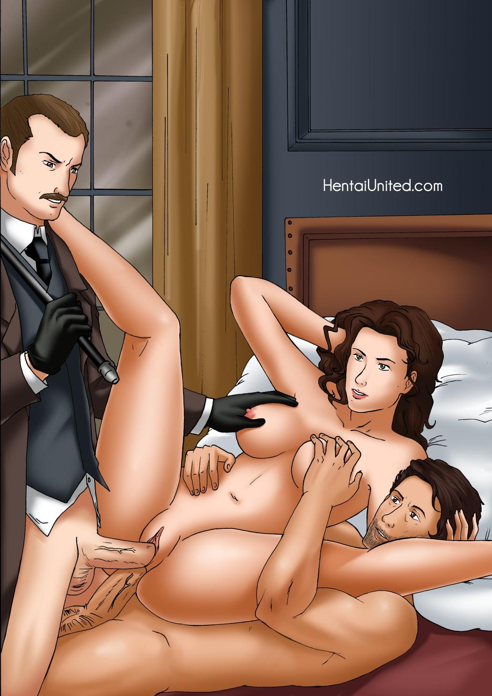 Порно и шерлока