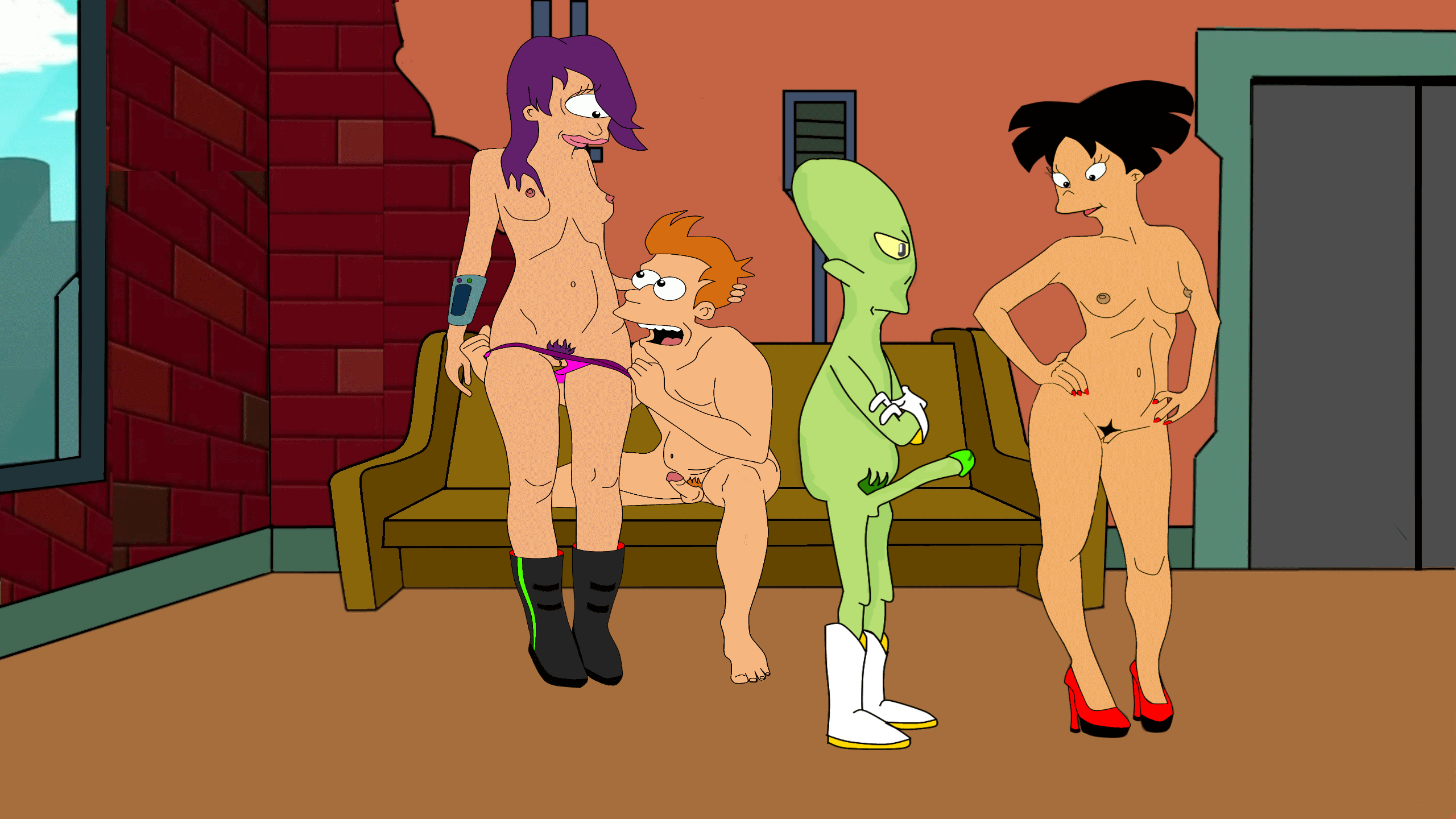 Animated Cartoon Sex Futurama