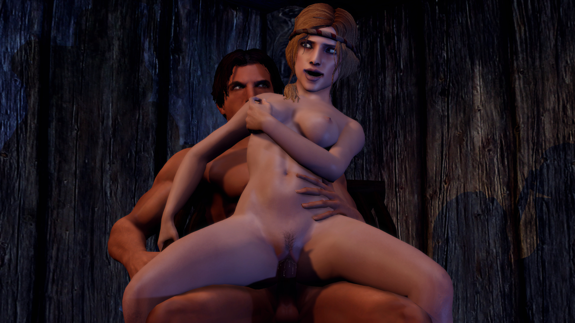 Gmod hentai model exposed scene