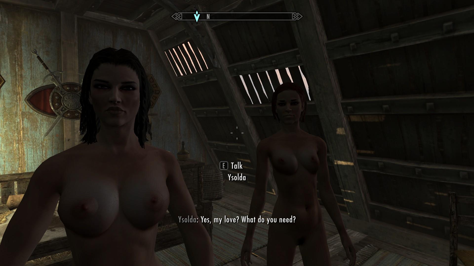 Верно! скайрим секс с лидией
