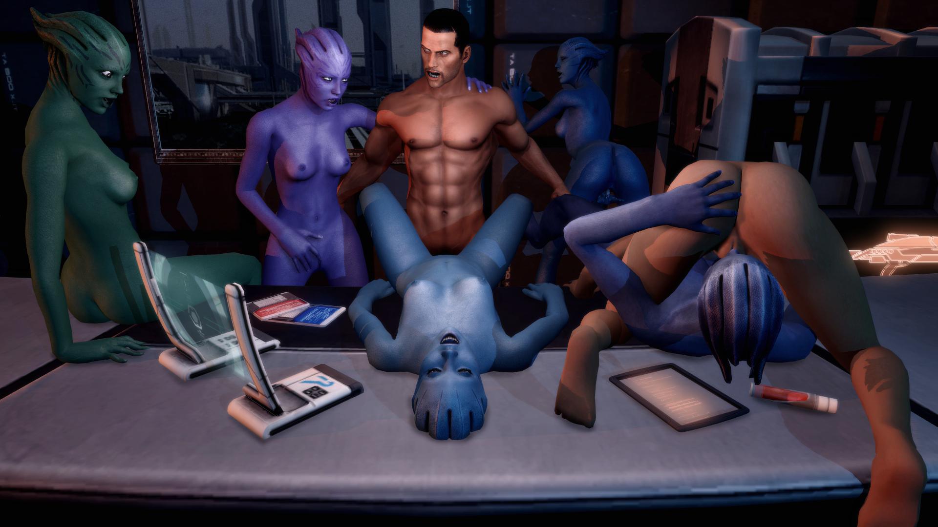 Мас эфект порно картини