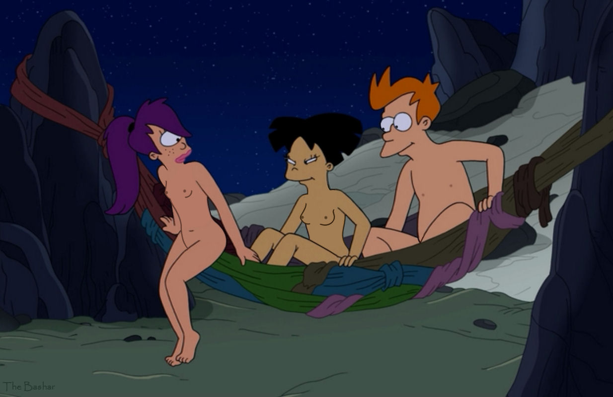 Leela amy futurama naked