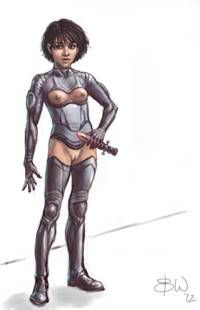Sexy ebony woman naked