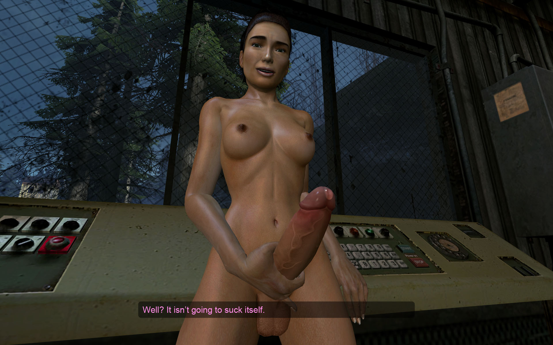 Gmod alyx porn video exposed scene