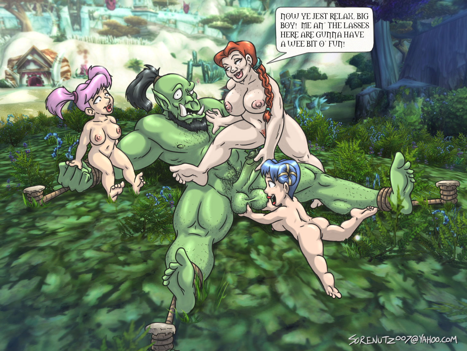 Gnomes gang bang orc sexy gallery