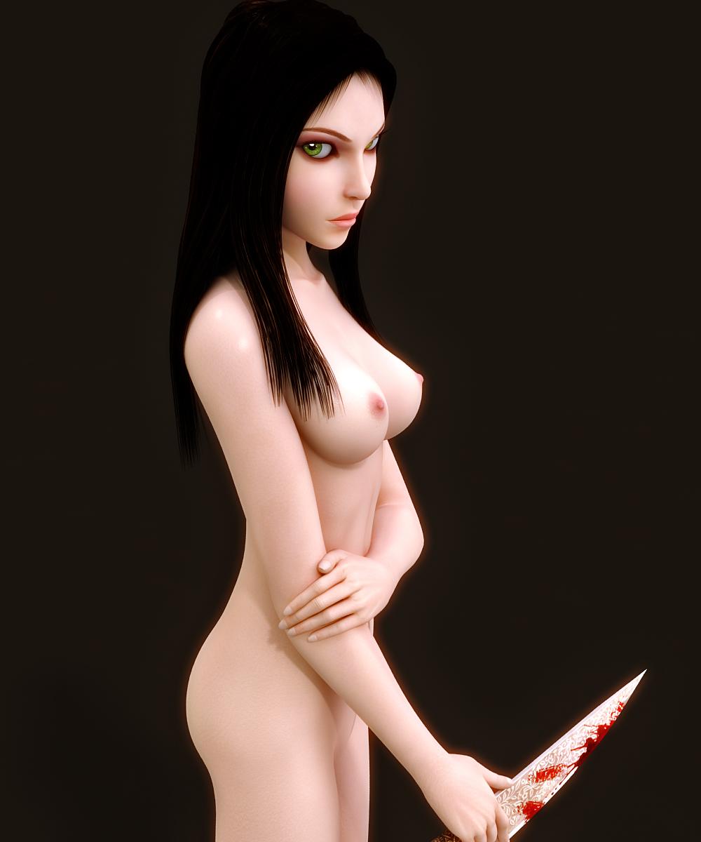 Alice madness returns nude hentia clip