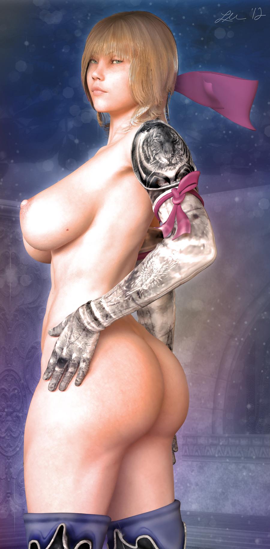 Naked Ivy Soul Calibur Taki Nude