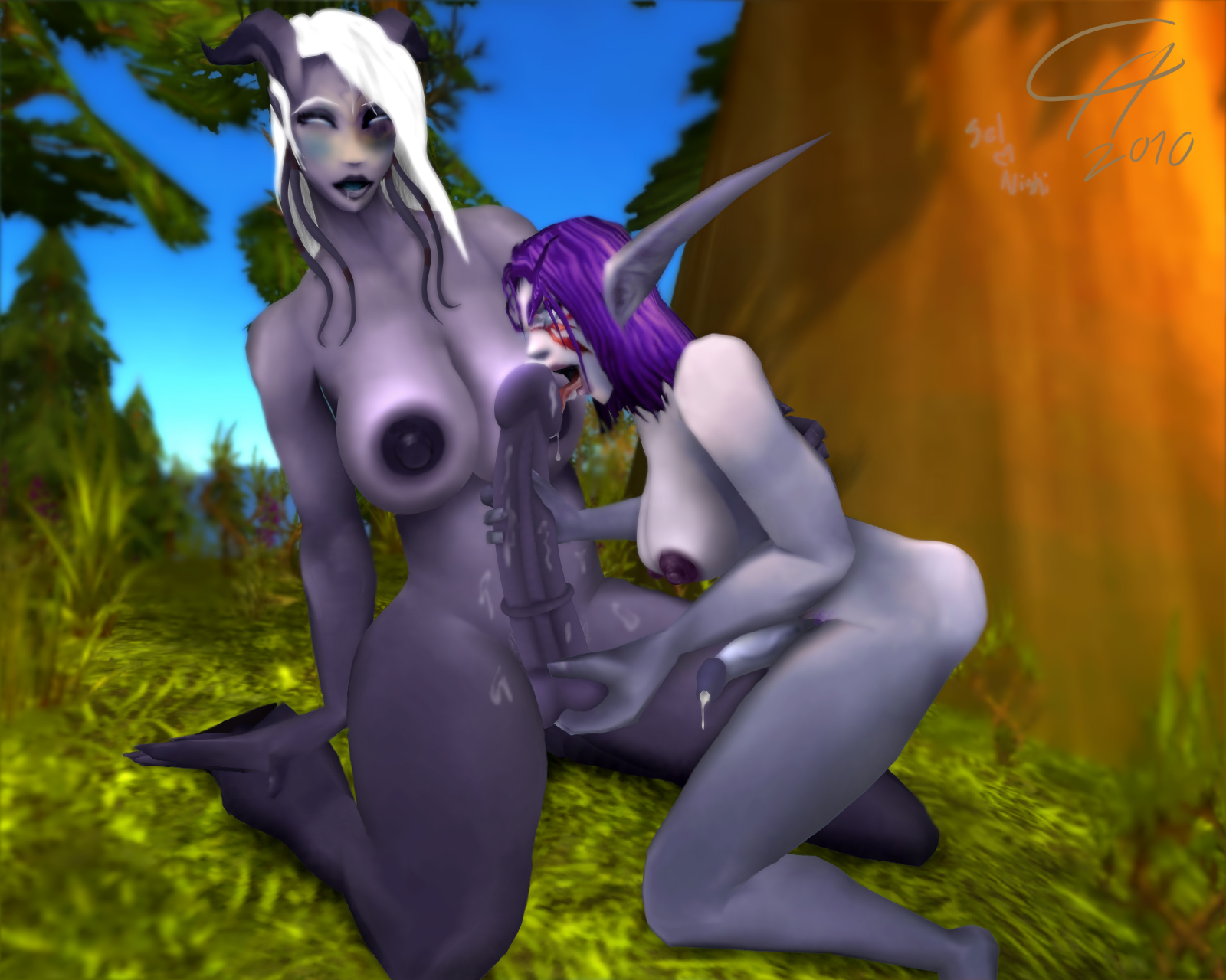 World of warcraft nude fanart xxx comics