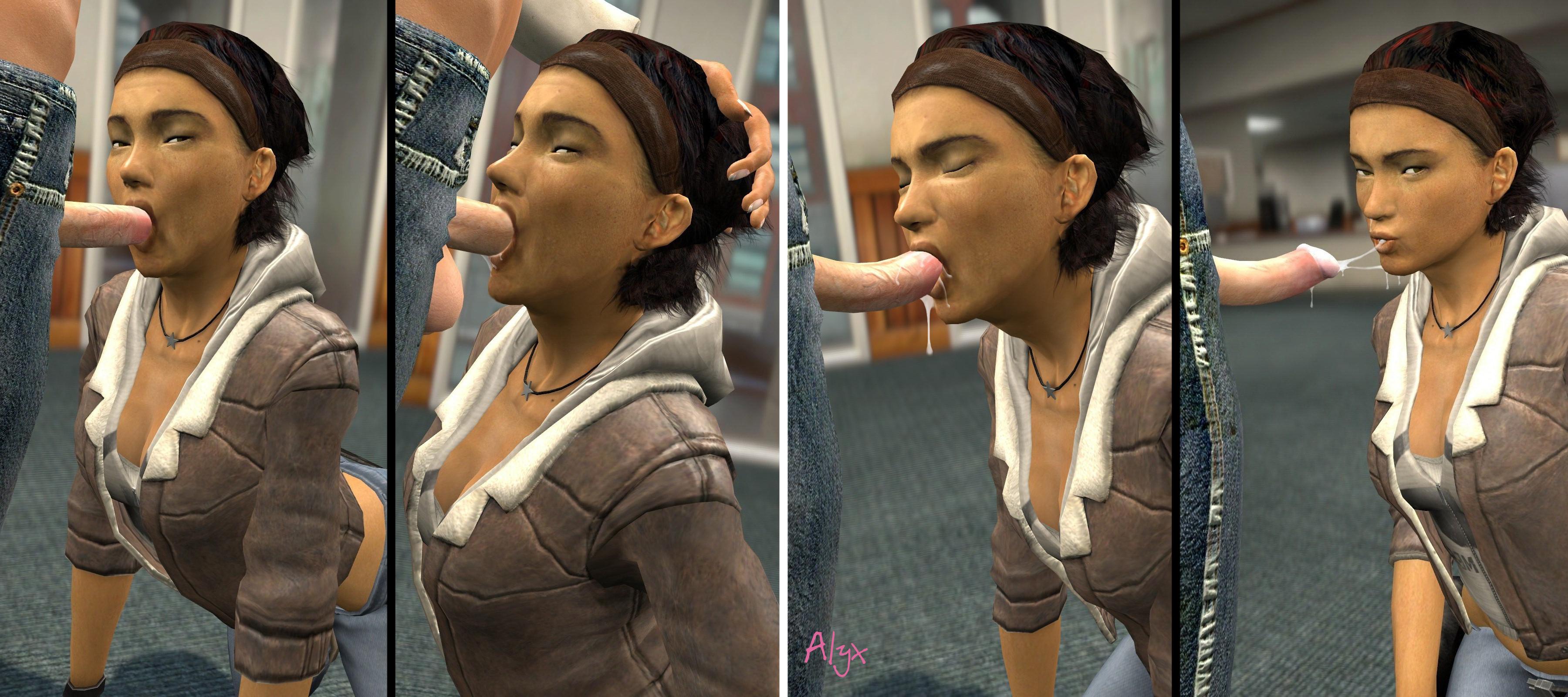 Alyx vance half life blowjob hentai tube