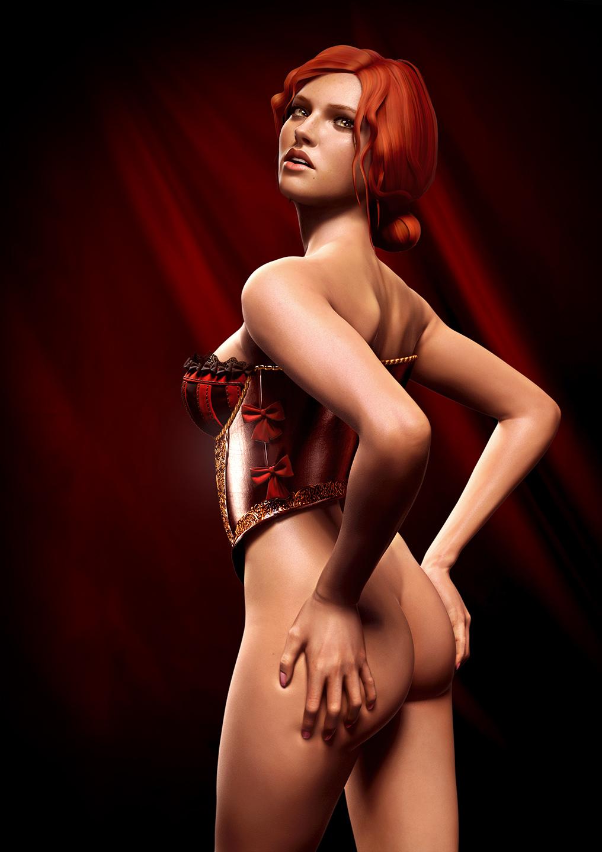 Triss merigold naked ass erotic comics