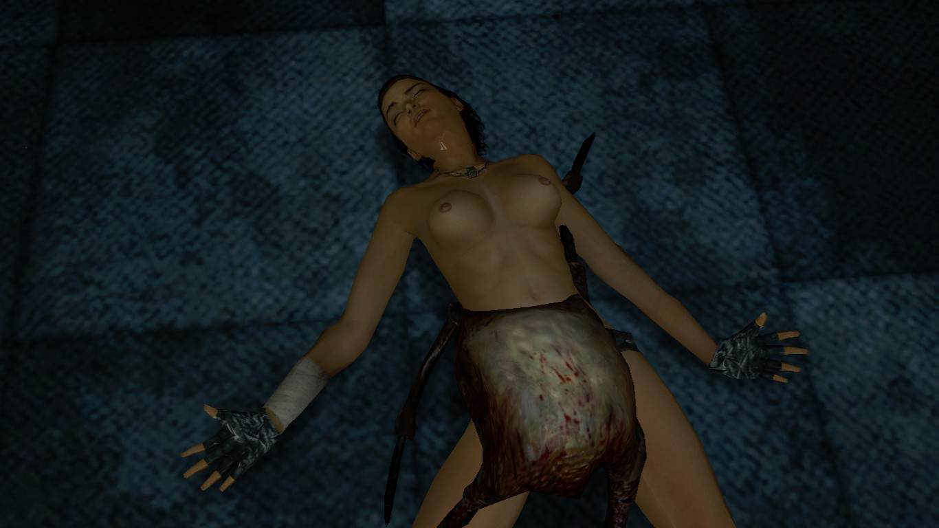 Gmod naked girl zombie nackt video