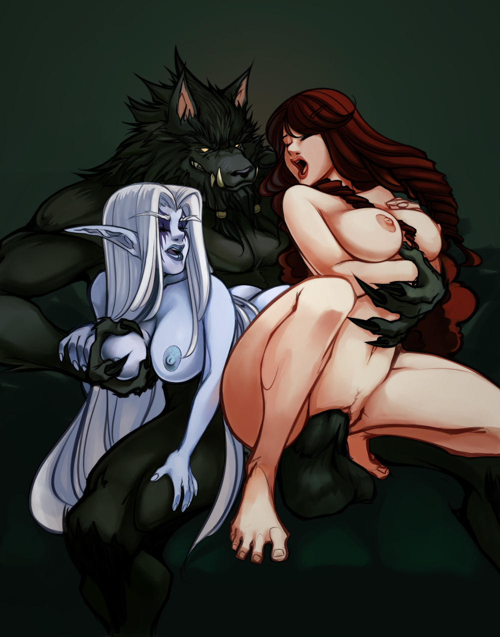 Wow night elf and human sex xxx pictures
