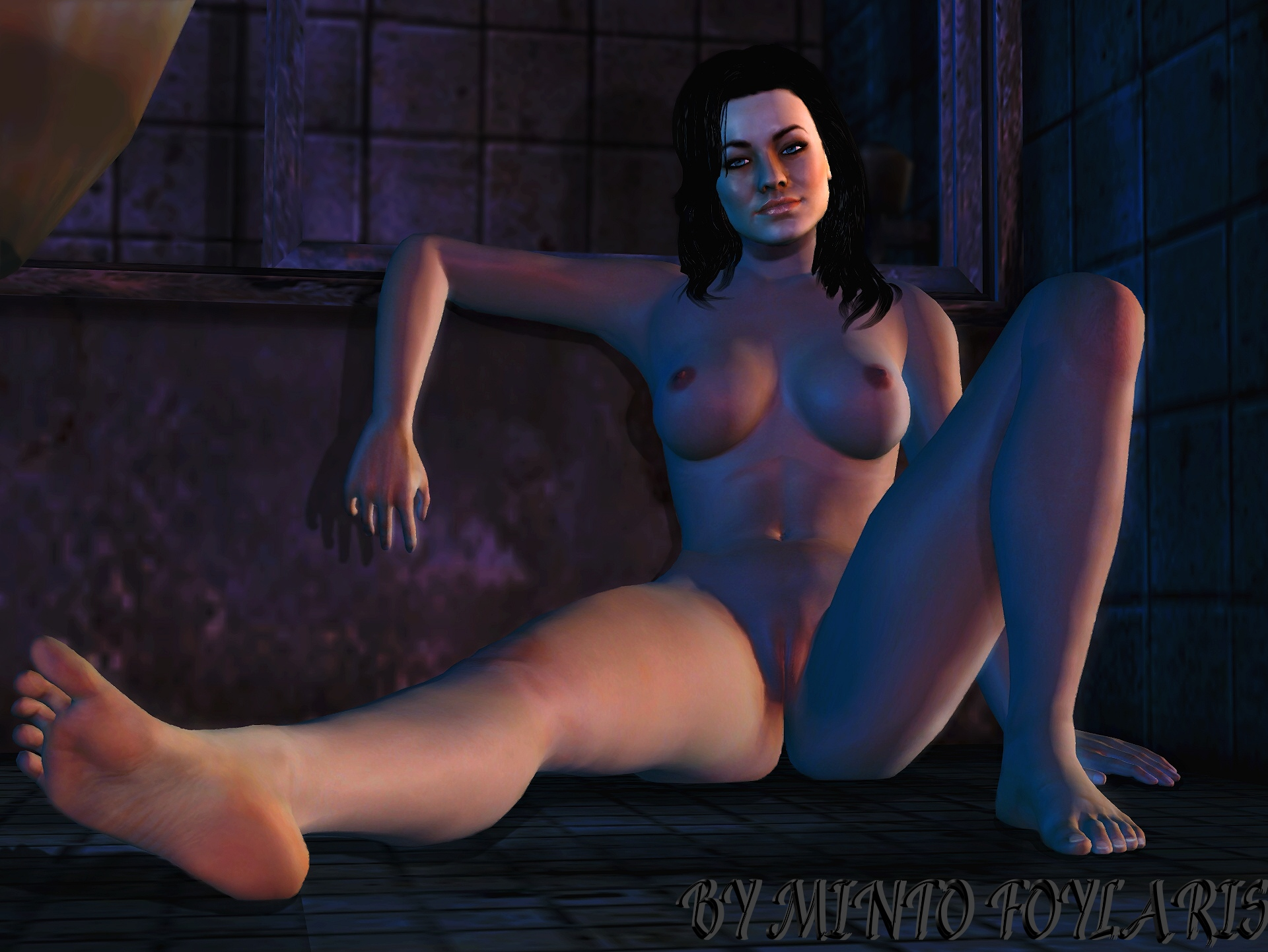 Mass effect miranda porn video fucked scenes