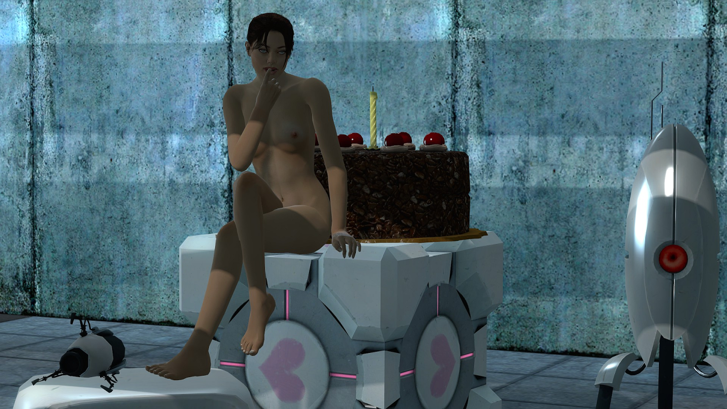 Nude chell porn