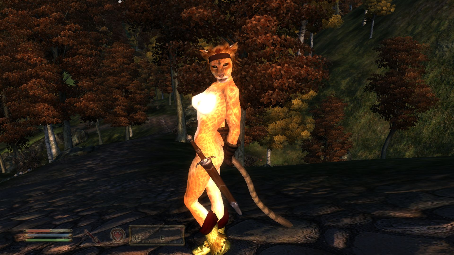 Oblivion khajiit nude porn scenes