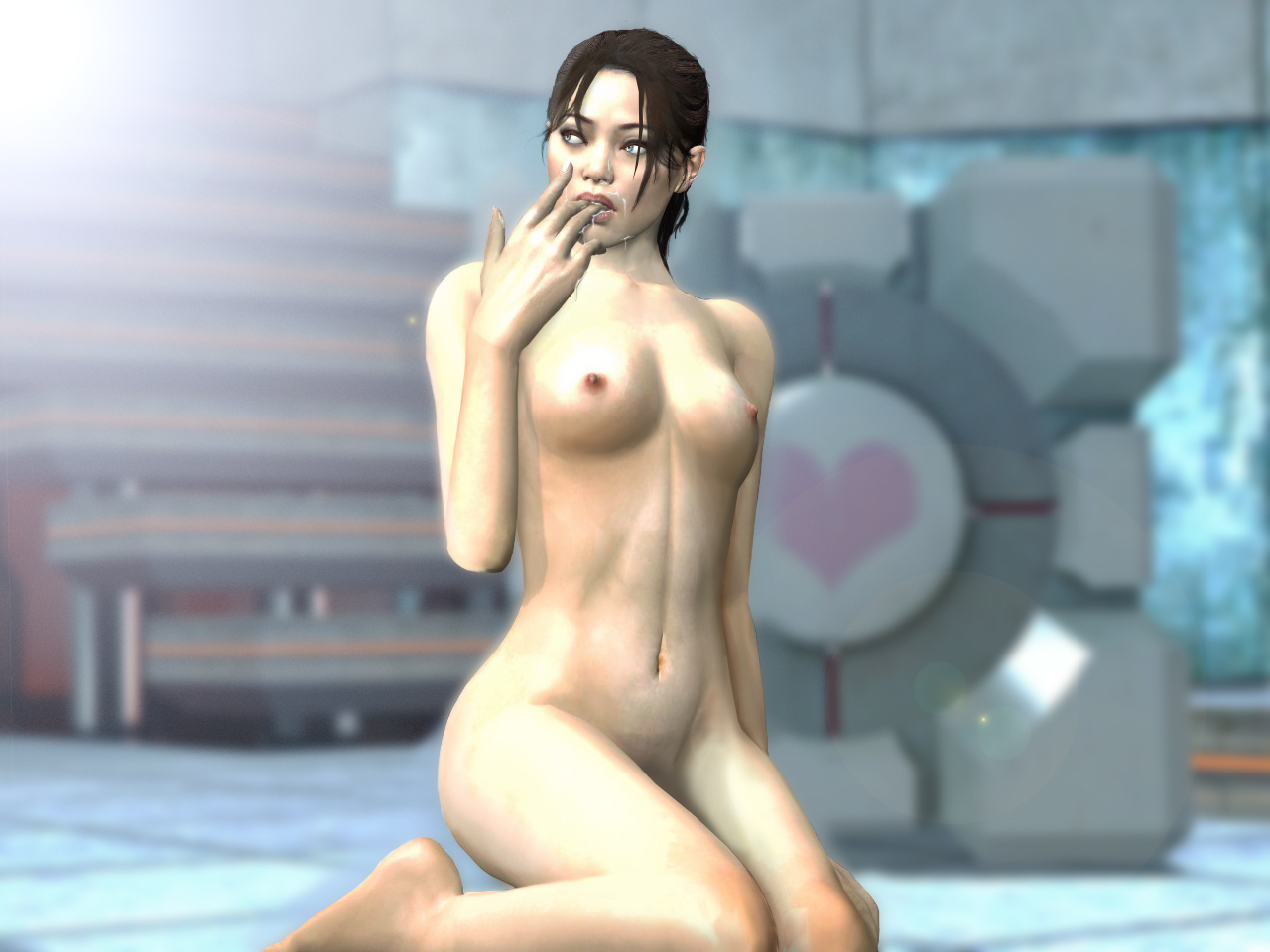 Chell nude adult clips