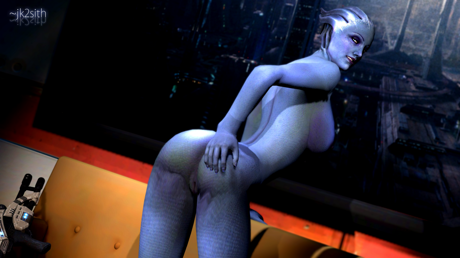 Naked pictures of liara in mass effect hentia clips