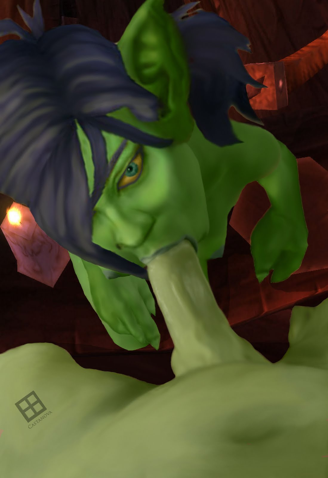 World of warcraft orc goblin hentai nudes movie