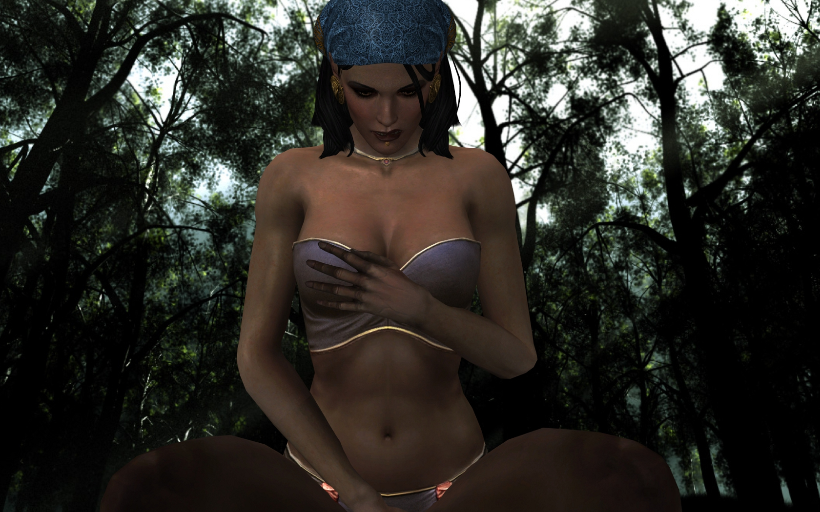 Dragon age 2 isabella nude mod adult scene