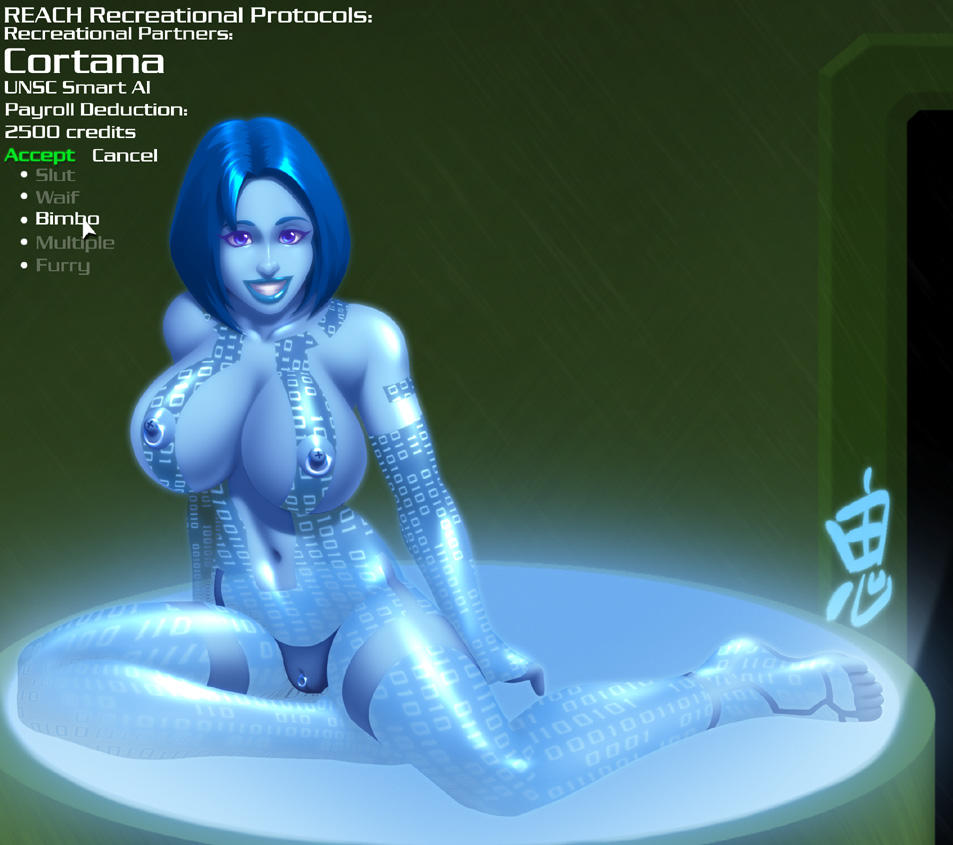 Halo 4 mods cortana nude fucks picture