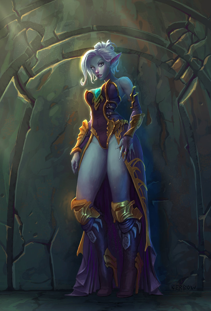 Blue skinned elves hentai pics