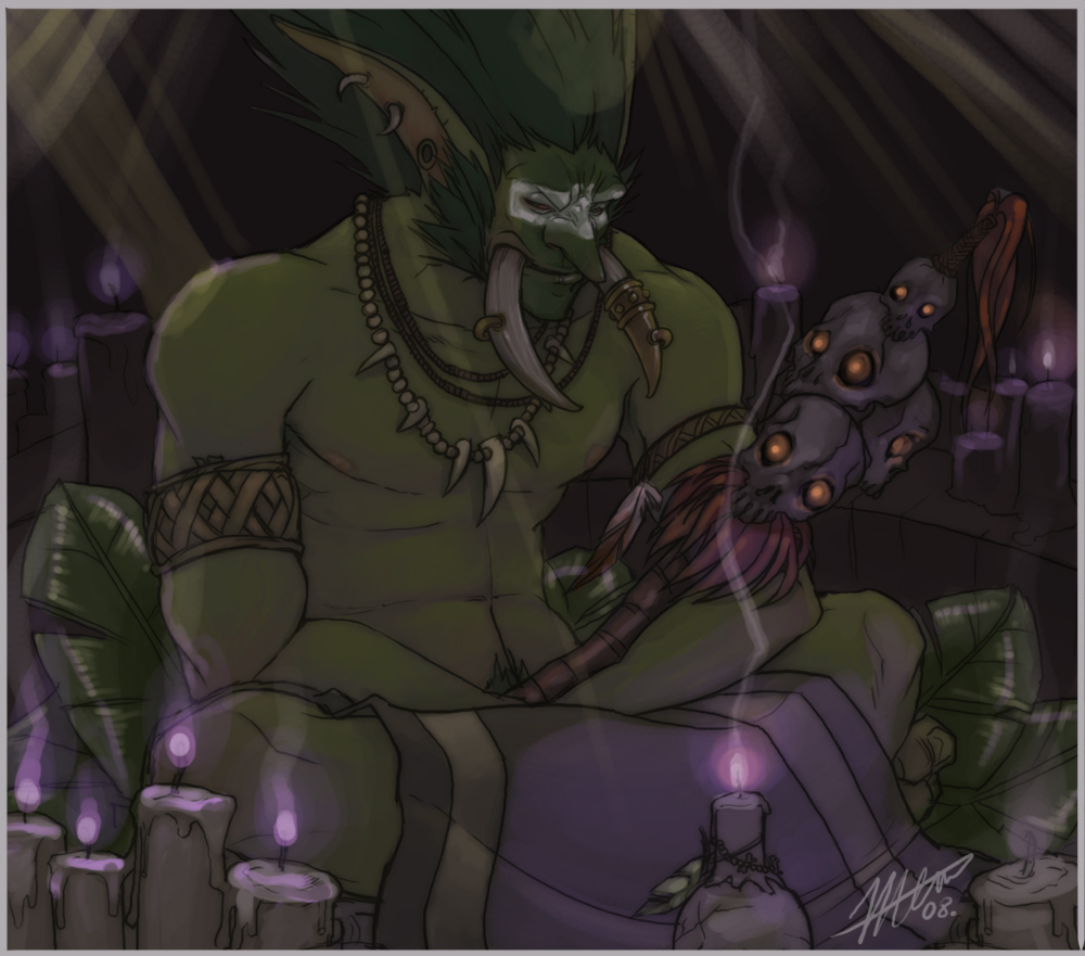 Warcraft yaoi nude tube