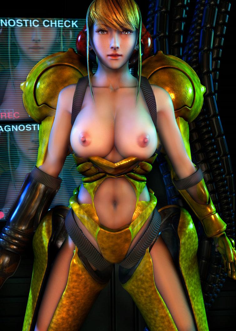 Metroid 3 nude mod porn clip